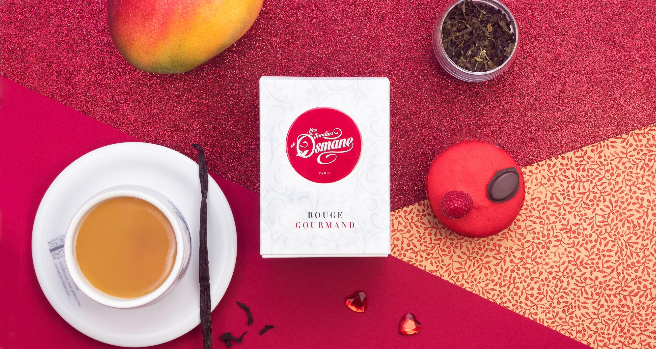 Thé Les Jardins d'Osmane Rouge Gourmand